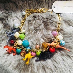 Super cute dinosaur lover 🦕  🦖  necklace